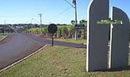 Cruz das Posses - Entrada da cidade-Foto:MARCO AURELIO ESPARZ…