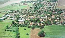 Cruzália - Vista aérea da cidade
