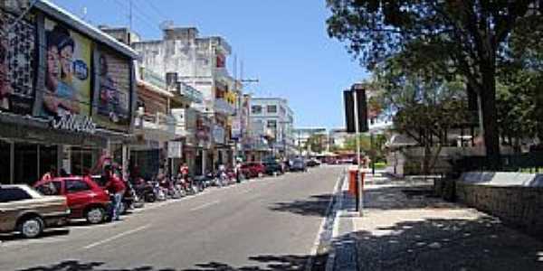 Paulo Afonso-Ba - Avenida Comercial da cidade  Por Walter Leite