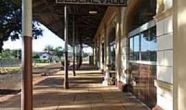 Descalvado - Estação Ferroviária de Descalvado-Foto:Detog