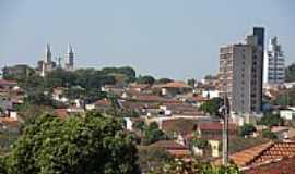 Descalvado - Vista parcial da cidade de Descalvado-Foto:Detog