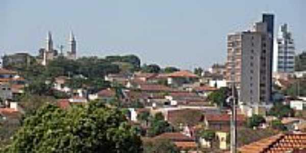 Vista parcial da cidade de Descalvado-Foto:Detog