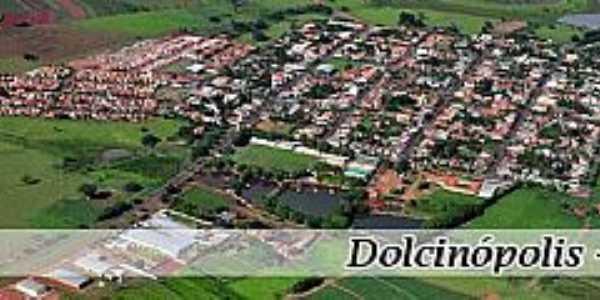 Imagem aérea de Dolcinópolis - SP