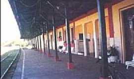 Dracena - Plataforma da Estação Ferroviária-Foto:LPSLPS