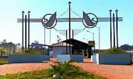Duartina - Duartina-SP-Entrada principal do Eco-Parque Ciro Simão-Foto:Luciano Rizzieri