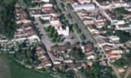Pedrão - vista aerea da cidade, Por rose