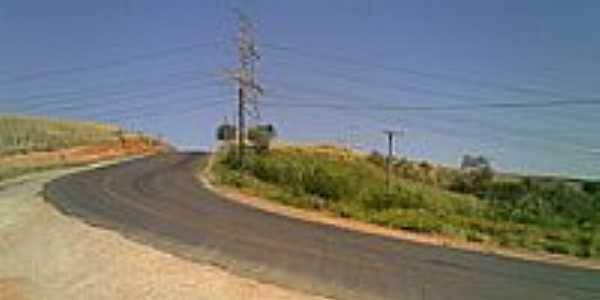Rodovia Joaquim de Campos Bicudo entrada da cidade-Foto:zardeto