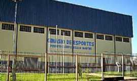 Emilianópolis - Ginásio de Esportes.