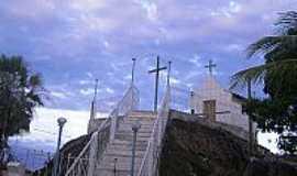 Pedras Altas do Mirim - Pedras Altas do Mirim-BA-Capela no alto do morro-Foto:Vilma Lima