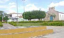 Pedras Altas do Mirim - Pedras Altas do Mirim-BA-Igreja do Município-Foto:Vilma Lima