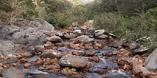 Pedras Altas do Mirim-BA-Leito do Rio Itapicuru Mirim-Foto:Eiru