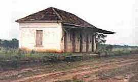 Esmeralda - Antiga Estação  em 1989 Foto Nilton José Gallo