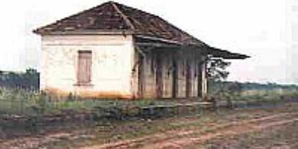 Antiga Estação  em 1989 Foto Nilton José Gallo