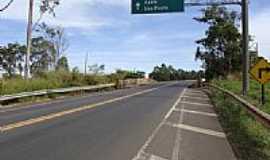 Espigão - Ponte SP-425 sobre ferrovia-Foto:Ricardo D. Mathias