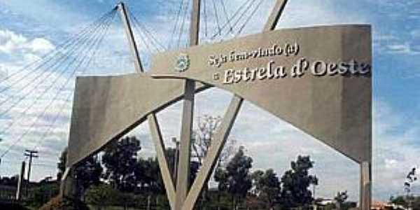 Imagens da cidade de Estrela D´Oeste - SP