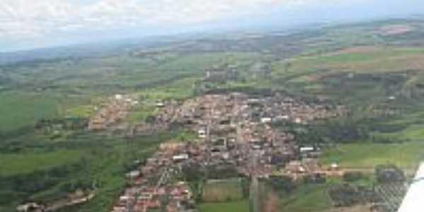 Foto Aérea da Cidade - Fernando Prestes-SP