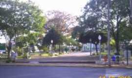 Gália - praça prinçipal da cidade, Por stampini