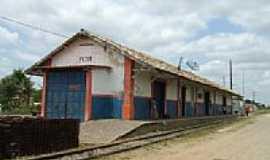 Petim - Petim-BA-Estação Ferroviária em 2008-Foto:Roosevelt Reis