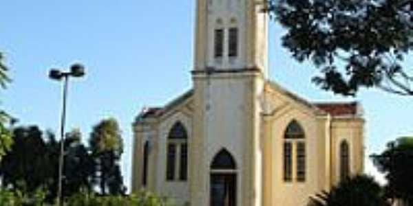 Igreja Matriz de Santa Terezinha-Foto:Marcelo Szk
