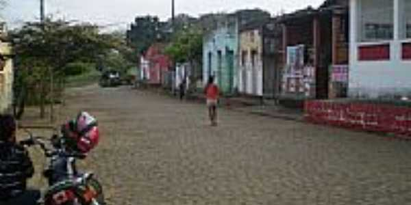 Rua principal em Piabanha-Foto: zé monteiro
