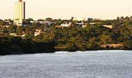 Guaíra - Guaíra-SP-Rio Paraná e a cidade-Foto:Érico Christmann