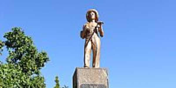 Guaíra-SP-Monumento ao Imigrante Japonês na Praça São Sebastião-Foto:Érico Christmann