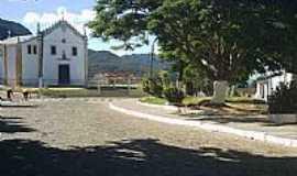Piatã - Praça e Igreja Matriz de Piatã-BA-Foto:alvaropiata