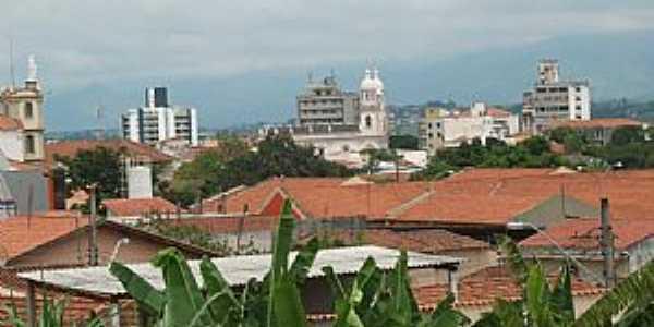 Guaratinguetá-SP-Vista parcial da cidade-Foto:Josue Marinho