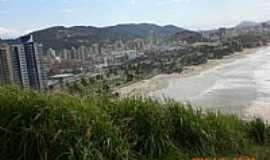 Guarujá - Praia da Enseada no Guaruja vista do Morro do Maluf por Rosana Salvadori