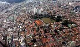 Guarulhos - Guarulhos-SP-Vista aérea do Lago da Vila Galvão-Foto:Talavan