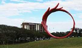 Guarulhos - Monumento em Comemoração à Imigração Japonesa em Guarulhos-SP-Foto:André Bonacin