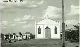 Guzolândia - Guzolândia-SP-Igreja Matriz em 1951-Foto:www.guzolandia.sp.gov.br
