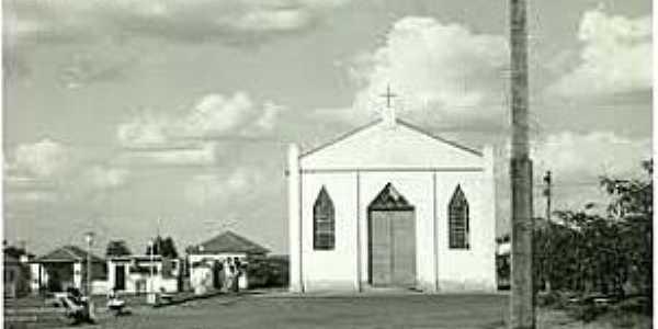 Guzolândia-SP-Igreja Matriz em 1951-Foto:www.guzolandia.sp.gov.br