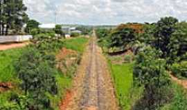 Hercul�ndia - Ferrovia-Foto:Eduardo M. P. Dantas