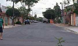Hortol�ndia - Rua Castro Alves em Hortol�ndia-SP-Foto:ananiasamn
