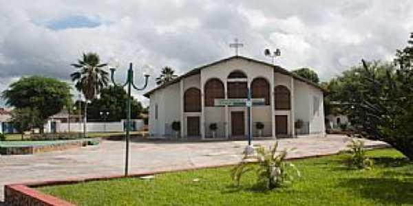 Pilão Arcado-BA-Matriz de Santo Antônio-Foto:Christovam Lopes Regis Junior