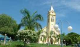 Iacanga - Igreja Matriz de Iacanga, SP, Por Roberto Gasparinni