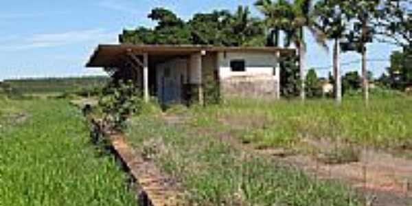 Antiga Esta��o de Trem por Eduardo MP Dantas