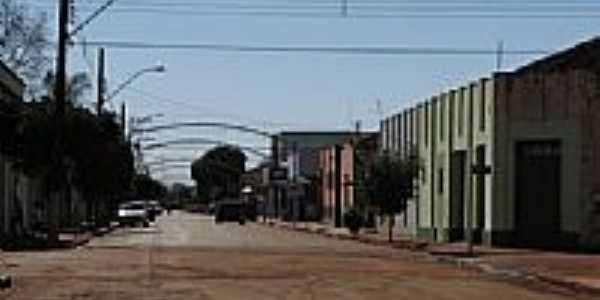 Rua central de Ibirarema-SP-Foto:gustavo_asciutti