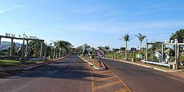 Iepê-SP-Entrada da cidade-Foto:memorialdosmunicipios.