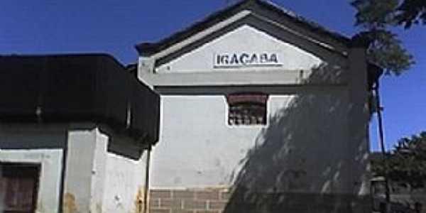 Igaçaba-SP-Antiga Estação Ferroviária-Foto:Rubens Almeida