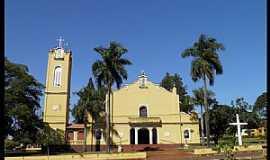 Igarapava - Igarapava-SP-Igreja de São Luís Gonzaga na Vila Usina Junqueira-Foto:Altemiro Olinto Cristo