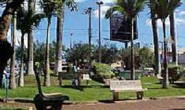 Igarapava - Praça central de Igarapava-SP-Foto:foscolo.biz