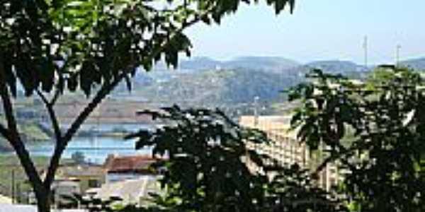 Vista da Represa e a cidade de Igaratá-SP-Foto:leonir angelo lunard…