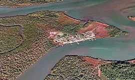 Ilha Diana - Ilha Diana-SP-Vista aérea-Foto:melhordesantos.com