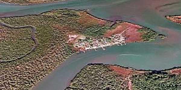 Ilha Diana-SP-Vista aérea-Foto:melhordesantos.com