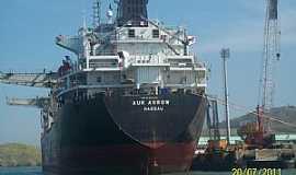 Ilhabela - Ilhabela-SP-Navio cargueiro norueguês-Foto:Josue Marinho