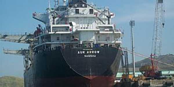 Ilhabela-SP-Navio cargueiro norueguês-Foto:Josue Marinho