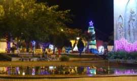 Indiana - Natal na praça central, Por Danilo Zagatti