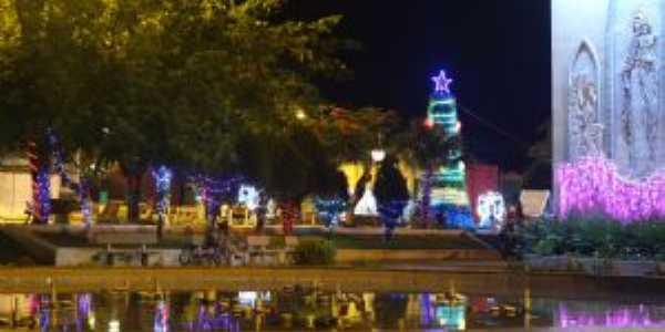 Natal na praça central, Por Danilo Zagatti
